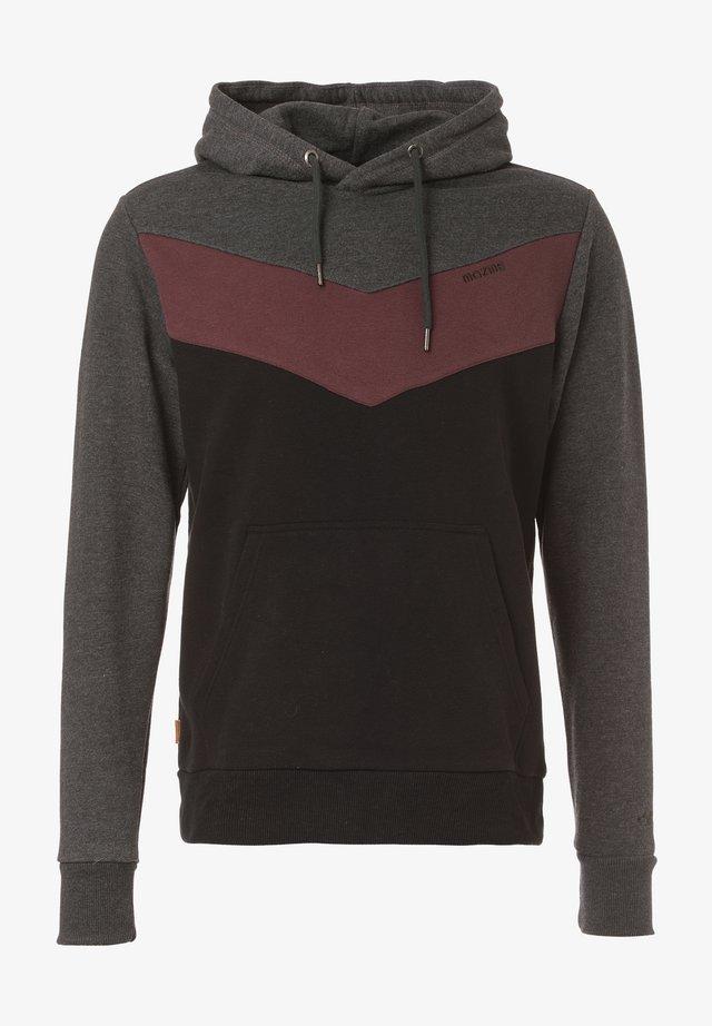 Sweater - black mel. / black