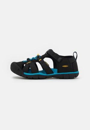 SEACAMP II CNX UNISEX - Sandały trekkingowe - black/yellow