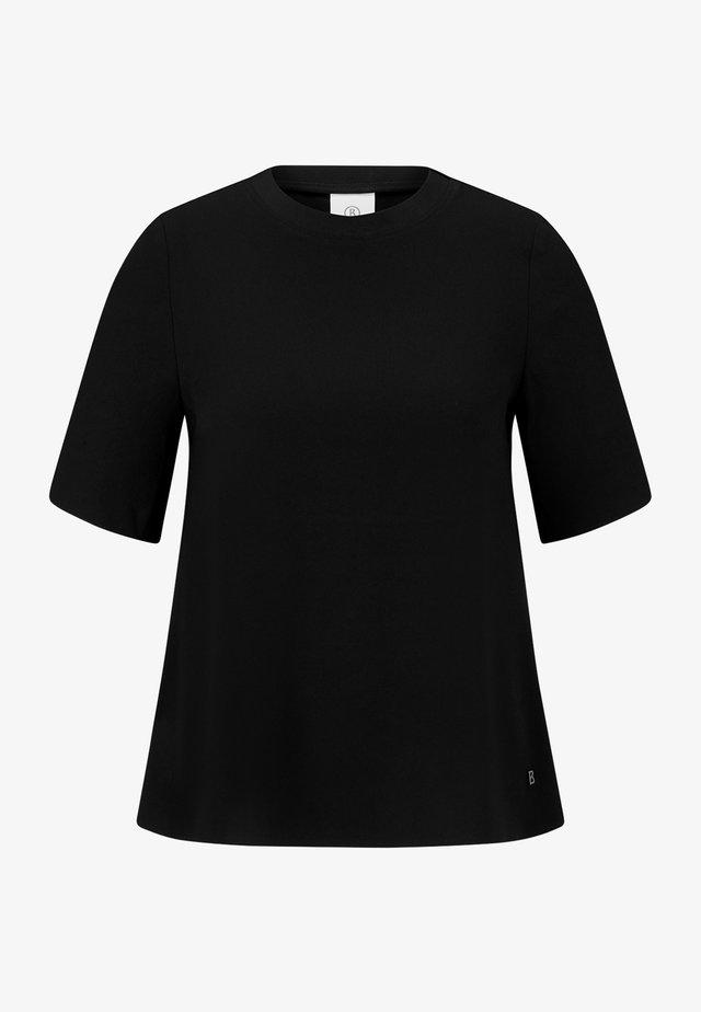 KARLY - Jednoduché triko - schwarz
