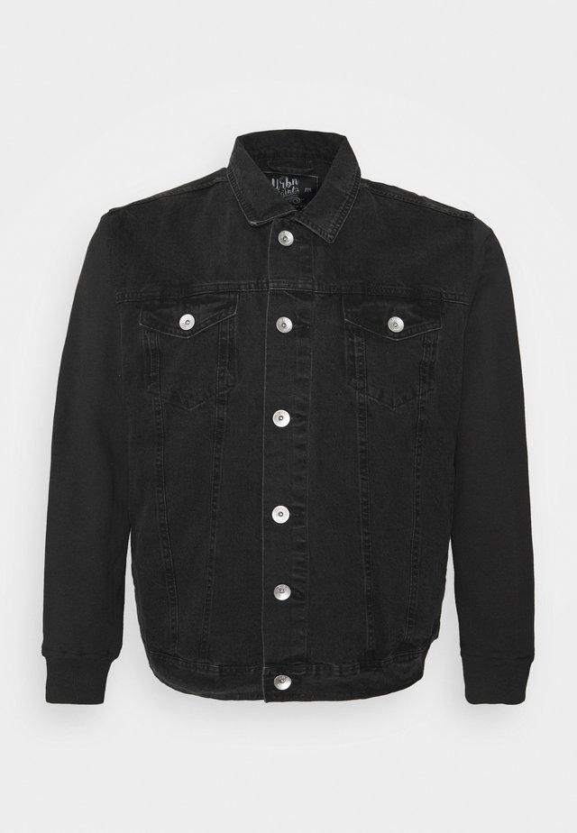 JAGUAR JACKET - Denim jacket - black stone