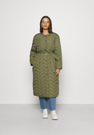 PCFAWN QUILTED JACKET - Winter coat - winter moss