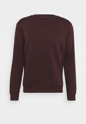 PREMIUM CORE - Sweater - dark fig