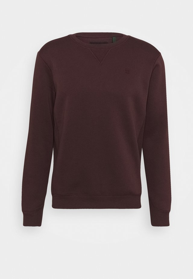 PREMIUM CORE - Sweater - dark fig