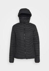 Columbia - POWDER LITE HOODED JACKET - Winter jacket - black - 5