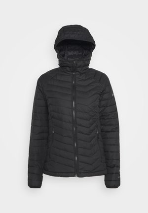 POWDER LITE HOODED JACKET - Zimní bunda - black
