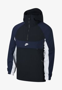 Nike Sportswear - RE-ISSUE - Windbreaker - black/obsidian/white - 0