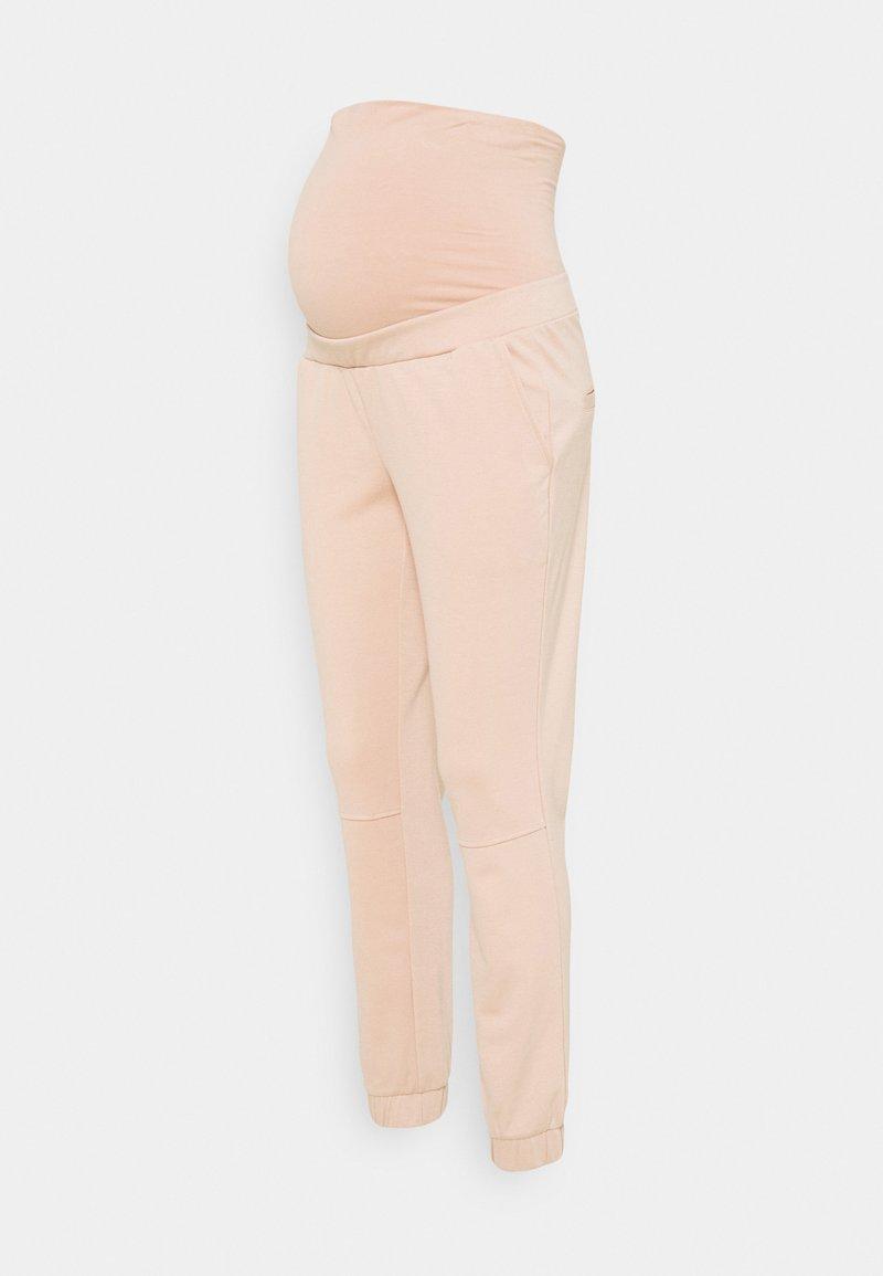 MAMALICIOUS - MLLINA JERSEY SWEAT PANTS - Pantaloni sportivi - rose dust