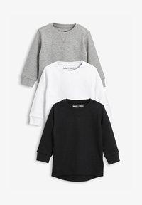 Next - THREE PACK - Long sleeved top - black - 0