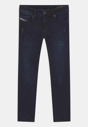 SLEENKER - Jeans Slim Fit - dark-blue denim