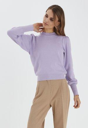 BYMAGDA  - Jumper - pastel lilac
