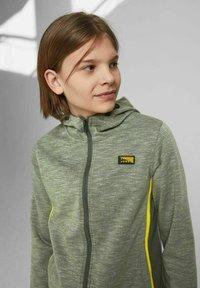 Jack & Jones Junior - Zip-up sweatshirt - oil green - 3