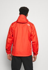 The North Face - MENS QUEST JACKET - Hardshell jacket - orange/mottled black - 2