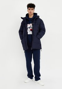 Finn Flare - Down coat - dark blue - 1