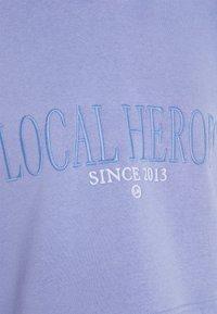 Local Heroes - CROPPED HOODIE - Mikina skapucí - violet - 2