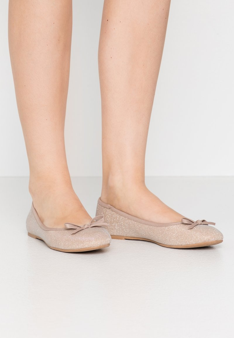Anna Field Wide Fit - Ballet pumps - rose gold