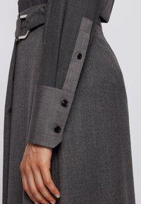 BOSS - BELUTA - Button-down blouse - grey - 4