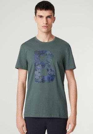 ROC - T-shirt print - graugrün