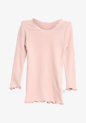 Long sleeved top - rose powder