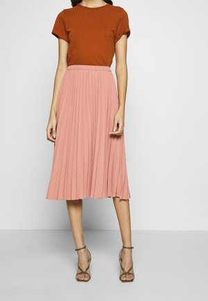 SARINA PLEATED SKIRT - A-line skirt - basic rose