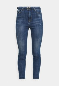 Pinko - SUSAN CROSS - Jeans Skinny Fit - mediu blue denim - 4