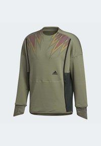 adidas Performance - PRIME COLD.RDY TOP CREW SWEATSHIRT - Sudadera - green - 11