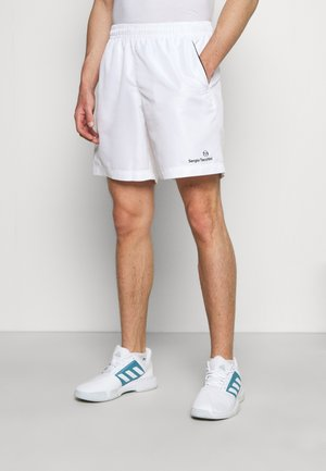 ROB SHORT - Sports shorts - white/black