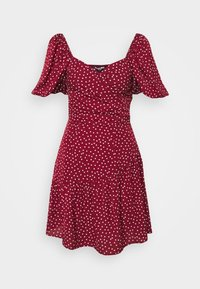 Fashion Union - CUTIE - Kjole - burgundy - 0