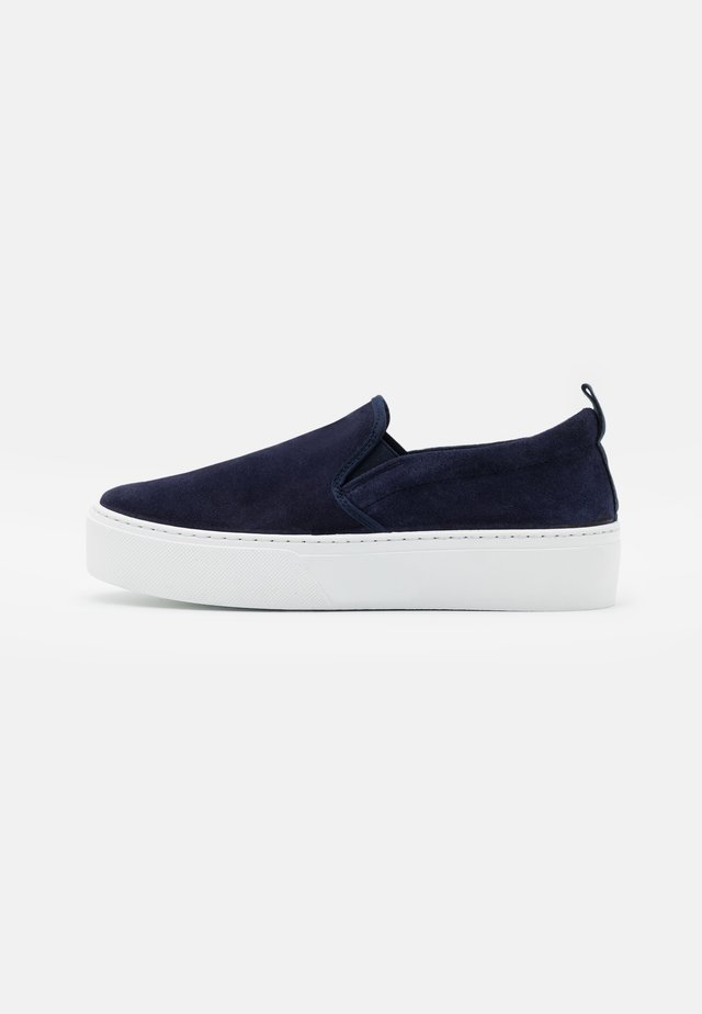FAITH FLATFORM - Slippers - navy