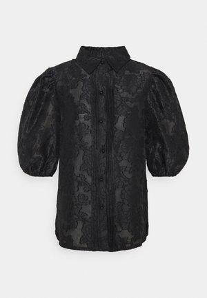 CHA CHA PUFF SLEEVE BLOUSE - Bluse - black