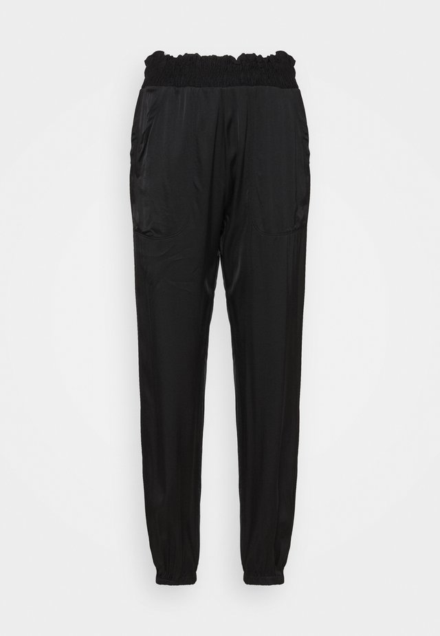 BOXING JOGGER - Spodnie treningowe - black