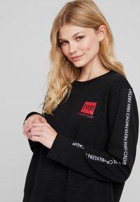 Calvin Klein Underwear - BOLD LOUNGE - Nattøj trøjer - black - 3