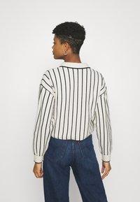 Weekday - HELGA - Jumper - white/ black stripe - 2