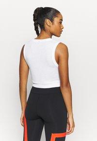 Cotton On Body - RUN WITH IT TWIST TANK - Top - lunar grey - 2