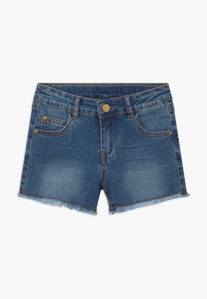 AGNES - Shorts vaqueros - light blue denim