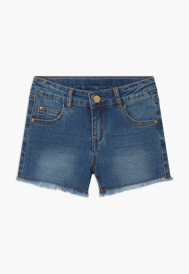 AGNES - Jeansshorts - light blue denim