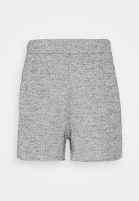 PCELLEE - Šortky - light grey melange