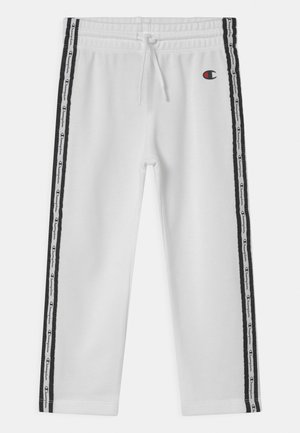 SLIM UNISEX - Tracksuit bottoms - white