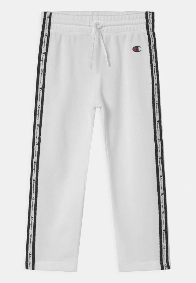 SLIM UNISEX - Pantaloni sportivi - white