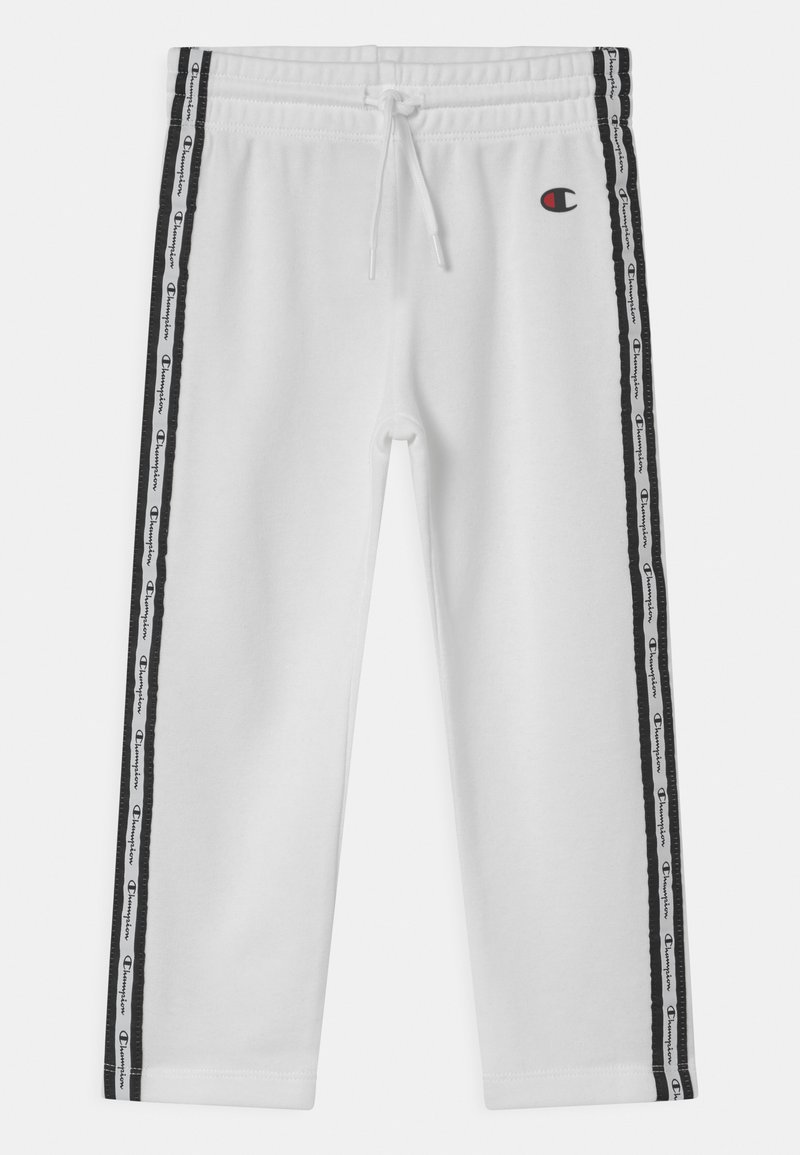 Champion - SLIM UNISEX - Pantalones deportivos - white