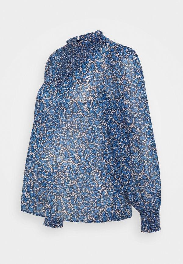 Pieces Maternity PCMTILLE - Bluzka - star sapphire/niebieski HIUP