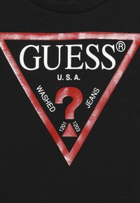 Guess - TODDLER CORE - T-shirt print - jet black - 3