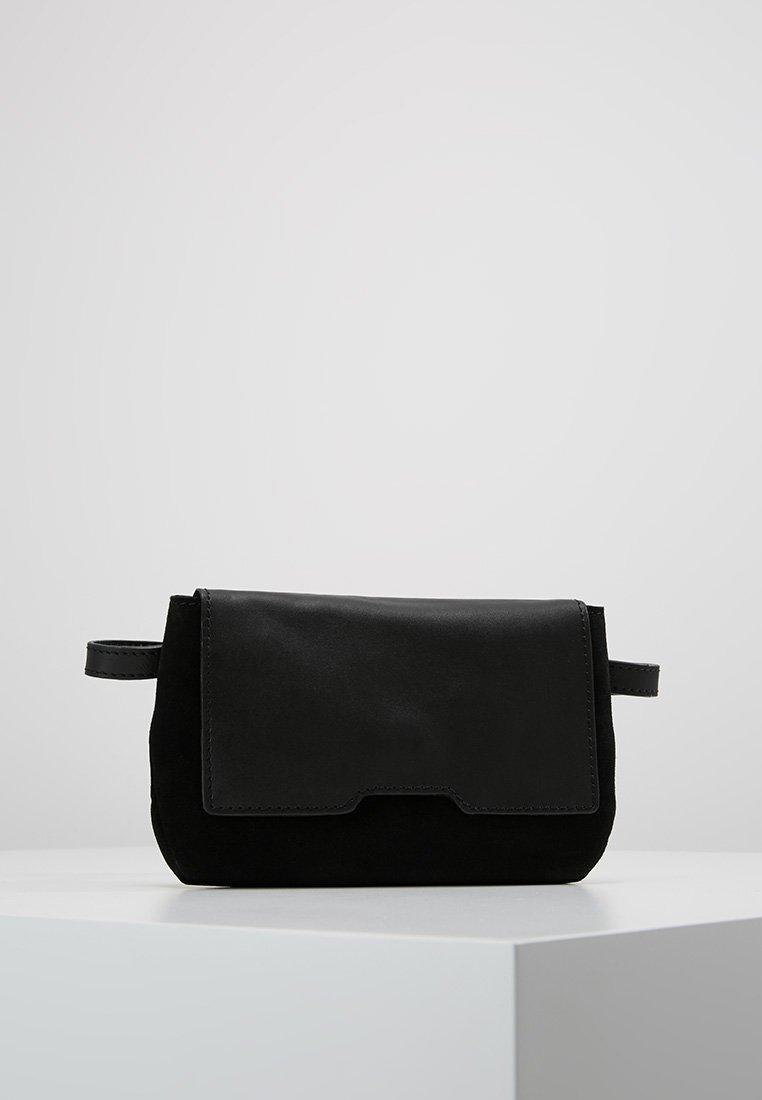 KIOMI - LEATHER - Bum bag - black