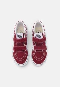 Vans - SK8-MID REISSUE UNISEX - High-top trainers - pomegranate/true white - 3