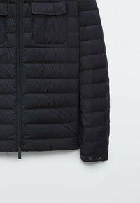Massimo Dutti - Light jacket - dark blue - 5