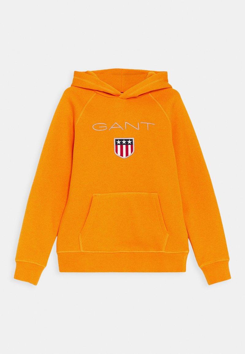 GANT - SHIELD LOGO HOODIE UNISEX - Hoodie - russet orange