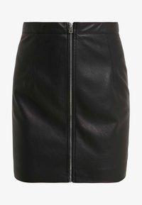 Pinko - LEVIGARE GONNA SIMIL - Mini skirt - black - 3