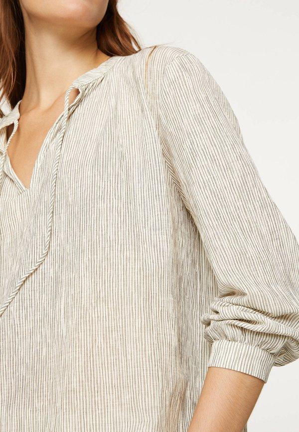 OYSHO Bluzka - white Odzież Damska WHSY OL 5