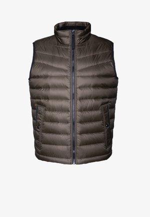 OLMEEV - Waistcoat - light brown
