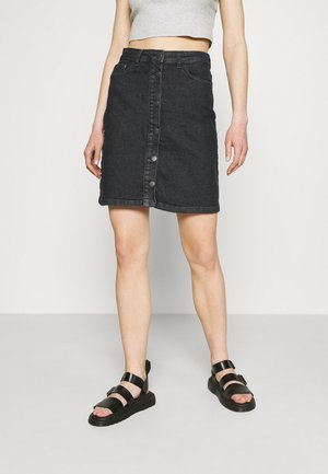 JDYTYSON LIFE  - Denim skirt - black denim