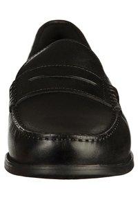 Geox - Elegantní nazouvací boty - black - 5